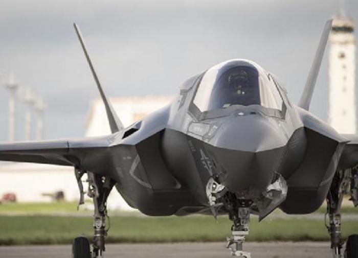 Американский самолет F-35
