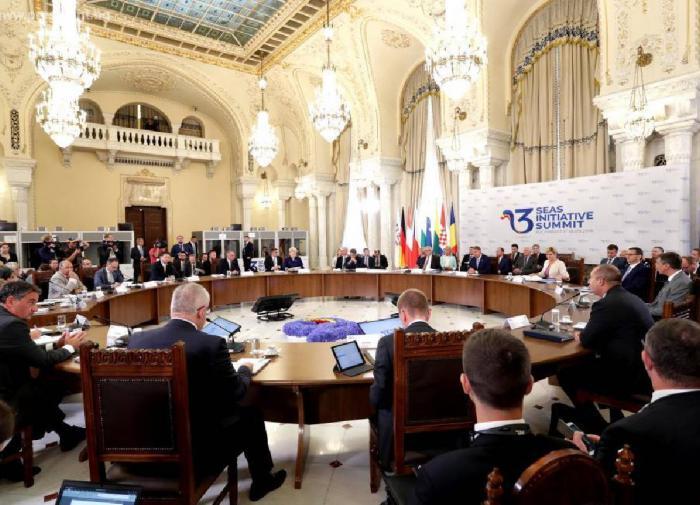Саммит «Инициативы трех морей» в Бухаресте, 2018 год