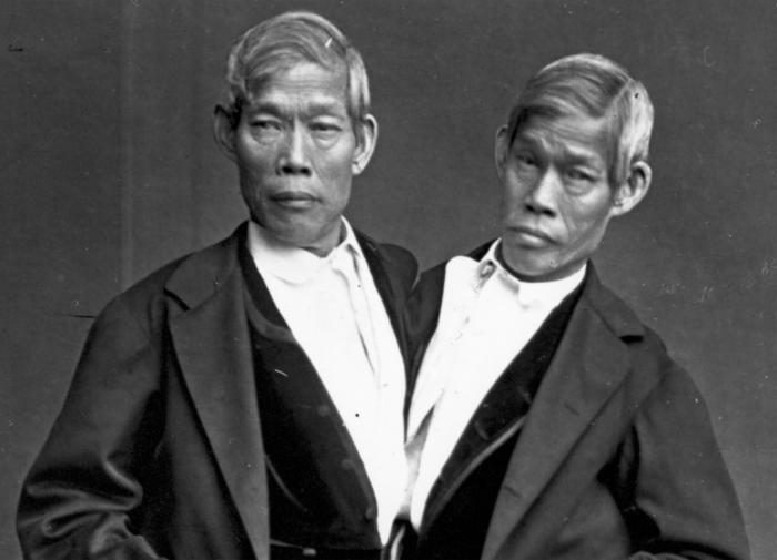 Сиамские близнецы Энг и Чанг Банкеры