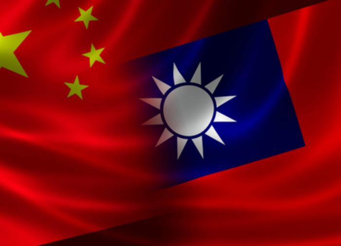 Китай и Тайвань, флаги