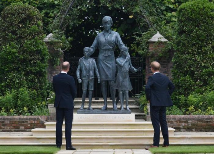 Памятник принцессе Диане в Кенсингтонском дворце